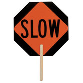 "ML Kishigo Stop / Slow Sign, 18""x 18"" Octagon Paddle, Non-Reflective, Mfg # 5950"
