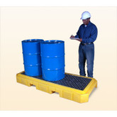 Ultra-Spill Pallet P3 Plus, no drain, 9626