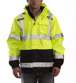 Tingley Icon 3.1 Class 3 High Visibility Waterproof & Breathable Jacket with 300 gram Zip Out Fleece Jacket, Mfg# J24172
