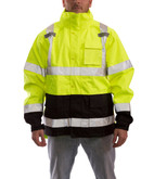 Tingley Icon High Visibility Class 3 Rain Jacket, Waterproof, Windproof, Mfg# J24122