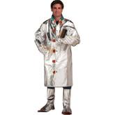 "Chicago Protective Apparel 602-AKV, 45"" Length Coat, 19 oz Aluminized Para-Aramid Material"