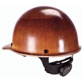 "MSA Skullgard® 475395 Protective Hard Hat, Natural Fiber Tan, Standard Size 6 1/2"" - 8"" Fas-Trac III Ratchet Suspension"