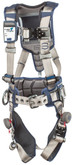 3M DBI Sala ExoFit STRATA Construction Style Harness, Back and Side D-Rings, Tri-Lock Revolver Buckles, Waist Pad and Belt