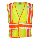 ML Kishigo 4 Season Adjustable Mesh Safety Vest, Hi-Visibility Yellow, ANSI 107 Class 2 Compliant, Mfg# 1166