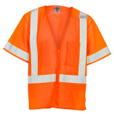 ML Kishigo 1265 Ultra-Cool™ ANSI 107 Class 3 Complaint Mesh Hi-Visibility Orange Safety Vest