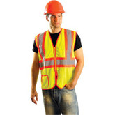 OccuNomix 2 Pocket-2-Tone, Mesh Vest, Mfg.# LUX-SSCLC2Z Occunomix