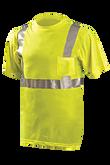 OccuNomix Hi-Vis, Class 2, Standard Shirt, 100% Poly, Mfg.#  LUX-SSETP2