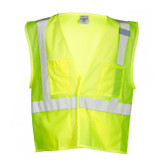 M.L. Kishigo Class 2 Safety Vest, Velcro Front, Multi-Pocket - Mfg# 1083