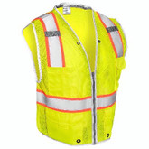 ML Kishigo Premium Brilliant Series Heavy Duty Safety Vest, Yellow | Mfg #1510
