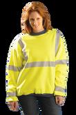 Occunomix Premium Wicking Crew Neck Sweatshirt, ANSI Class 3 Compliant, Mfg# LUX-SWT3
