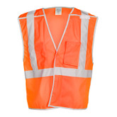 M.L. Kishigo Brilliant Series Breakaway Class 2 Safety Vest, Mfg# 1506B
