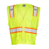 M.L. Kishigo Ultra-Cool ANSI Class 2 Mesh Vests, Multi-Pocket | Mfg# 1195