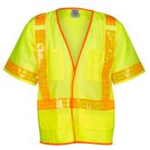 M.L. Kishigo Reflexite® ANSI 107 Class 3 Compliant Mesh Safety Vest, Styles 1201A & 1202A