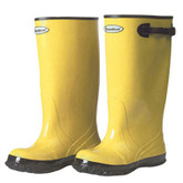 Durawear Yellow Rubber Slush Boot, Over-the-Shoe, 17 Inch Knee Length, Mfg# 1510