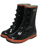 "Durawear 5 Buckle Black Rubber Boot, ""Over-the-Shoe"" Style 