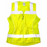 ML Kishigo Ladies 1521 Deluxe ANSI Class 2 Fitted Safety Vest | Mfg# 1521