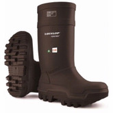 Dunlop® Purofort® Black Thermo+ Boot, Full Safety Omega/EH, Mfg# E652-033