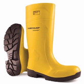 Dunlop® Yellow FoodPro Purofort® MultiGrip Safety Toe Boot |  Mfg# EA61231