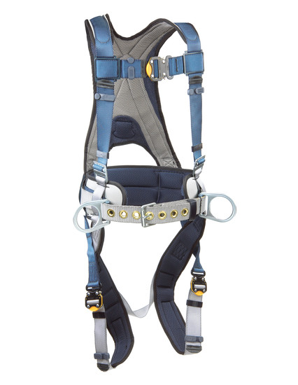 DBI Sala ExoFit™ Construction Style Positioning Harness, Back D-ring