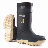 Dunlop® Navy Purofort® Thermo+ Full Safety Boots | Mfg# E662 673