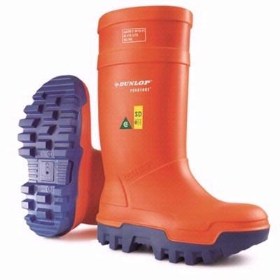 7f10f313359 Dunlop® Orange Purofort® Thermo+ Full Safety Boots | Mfg# E662 343