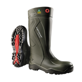 Dunlop Purofort+ Full Safety Boot, Dark Green, Mfg# E762-943US