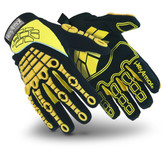 HexArmor® 4025 Chrome Series Gloves,  ANSI Cut Level A8 360 Degree Protection, Impact Protection