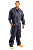 Occunomix Classic Indura® Flame Resistant Coverall HRC 2, Navy | Mfg# G909I-NV