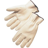 Leather Drivers Gloves, Top Grain Cowhide, Keystone Thumb | Mfg# 10-6402