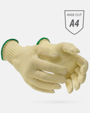 Worldwide Protective ATA 7 Gauge ATA/Cotton Plated Glove, ANSI Cut Level A4, Seamless Knit, Ambidextrous, Mfg# MATA30PL