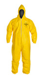 Tychem QC Coverall, Front View