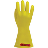 Salisbury® Yellow Electricians Gloves, Class 0 Low Voltage, 14 Inch Length, 1 pair, Mfg# E014Y