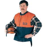 Elvex 94 Series ProVest, Orange + Blue bottom Vest # 420 Denier Nylon # 80-JE50M
