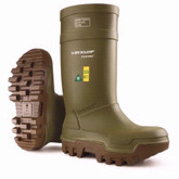 Dunlop Boots Purofort Green Thermo+ Full Safety, Mens, Mfg# E662-843