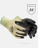 Worldwide Protective ATA® 505 Cut Resistant Glove, Black Nitrile Coated Palm, ANSI Cut Level 4, Sold Per Pair | Mfg # 505