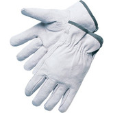 Durawear Grey Split Leather Suede Drivers Style Work Glove, Sold In Pairs, Mfg# 10-5402