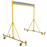 FlexiGuard™ A-Frame Rail Fall Arrest System, Anchor Height 30 ft., Rail Width 20 ft | Capital Safety Part# 8517798