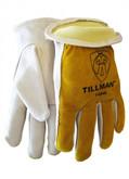 Tillman 1454 Grain/Split Cowhide Kevlar Sock Lined Drivers Gloves, ANSI Cut Resistant Level 2