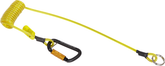 Hammer lanyard, coil tether, 2 lb. (0.9 kg) capacity.