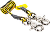 Tool lanyard, coil tether, 5 lb. (2.3 kg) capacity