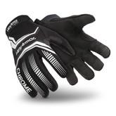 HexArmor 4032 Chrome Core Mechanics Glove,  ANSI/ISEA Cut A8 SuperFabric, Black, Sold In Pairs