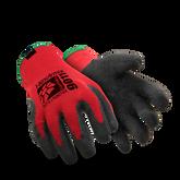 Hexarmor 9011 SuperFabric ANSI Cut Level A7 Cut Resistant Work Glove, Black Rubber Palm Coated Glove, 1 Pair/Pkg, Mfg# 9011
