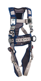DBI Sala ExoFit STRATA Construction Style Harness, Back and Side D-rings, Tongue and Buckle Leg Straps, Waist Pad and Belt