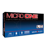 Microflex® Micro One® Latex Gloves, Lightly Powdered, 100 each/box, Mfg# MO-150