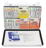 Pac-Kit Safety 36 Unit First Aid Kit With BBP And CPR, Metal Case