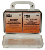 Pac-Kit Safety Blood Borne Pathogen (BBP) Unitized Spill Clean Up Kit, Plastic Case, Mfg# 3060