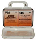 Pac-Kit Safety Blood Borne Pathogen (BBP) Unitized Spill Clean Up Kit, Plastic Case, Mfg# 3060