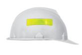 "Accuform® 1"" X 4"" Fluorescent Yellow 14 mil Self-Adhesive Vinyl Retro-Reflective Hard Hat Sticker, 16 ea/sheet"