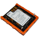 Industrial Scientific Orange Ventis MX4 & Ventis Pro Standard Lithium-ion Battery, 12 Hour Run Time, Mfg# 17134453-11