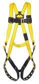 MSA Workman® Full Body Harness, Tongue & Buckle Leg Straps, Standard Size, Mfg# 10072487